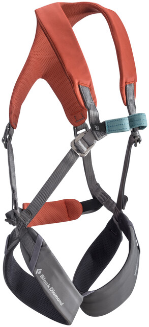Klettergurt Body : Black diamond momentum full body harness kids octane campz